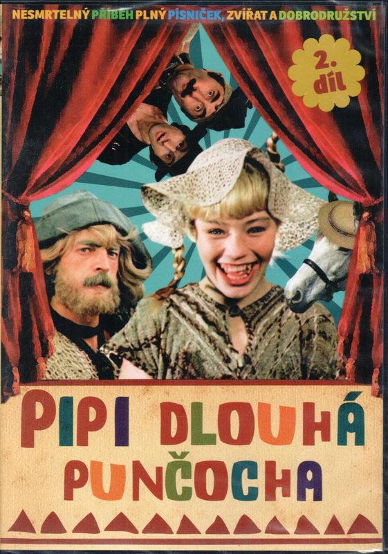 Pipi dlouhá punčocha - díl 2 (1982) - slim - DVD