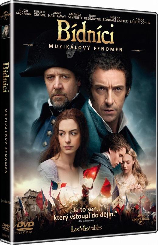 Bídníci (Hugh Jackman, Russell Crowe...) - DVD