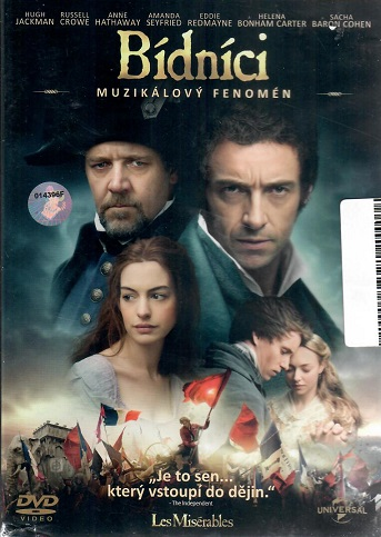 Bídníci -  původní znění, cz titulky (Hugh Jackman, Russell Crowe...)