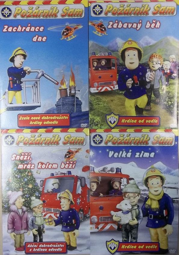 Požárník Sam Kolekce 4 DVD