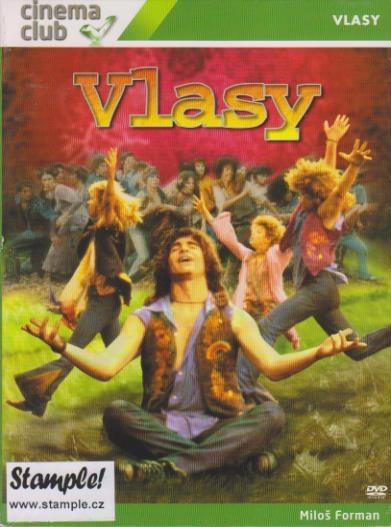 Vlasy ( digipack ) - DVD