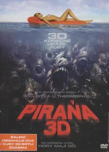 Piraňa 3D - DVD