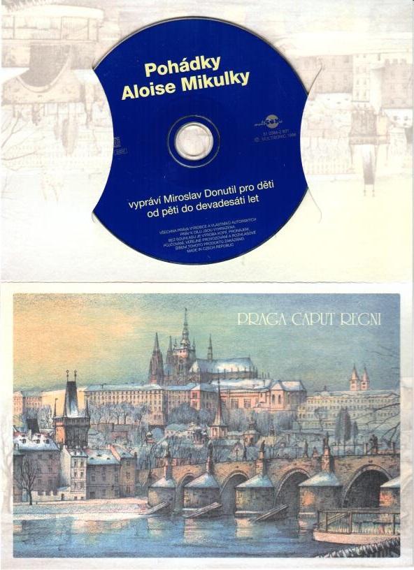 Pohádky Aloise Mikulky - CD ( dárková obálka )