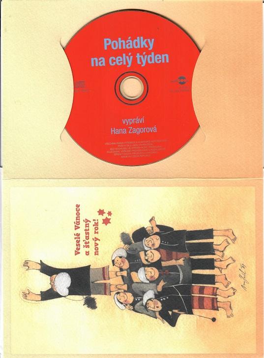 Pohádky na celý týden ( dárkový papír obal ) - CD