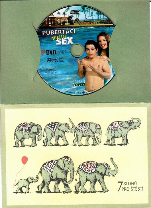 Puberťáci milují sex ( dárkový papír opbal ) DVD