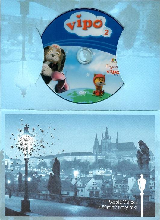 Vipo Létající pejsek 2 - Lyžařské dobrodružství ( dárkový papír obal ) - DVD