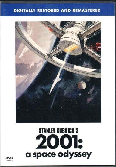 2001: vesmírná odysea - DVD plast