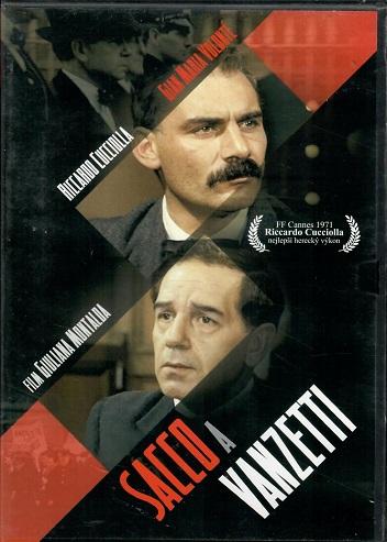 Sacco a Vanzetti ( originální znění s CZ titulky ) - plast DVD