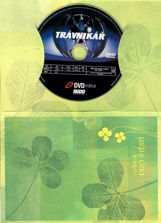Trávníkář ( dárkový papír obal ) - DVD