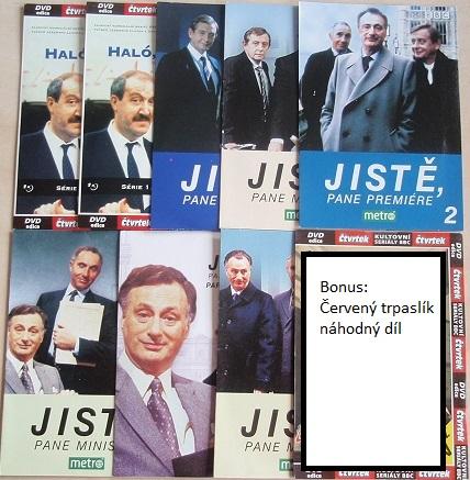 Britský humor - Kolekce 8DVD +1 bonus