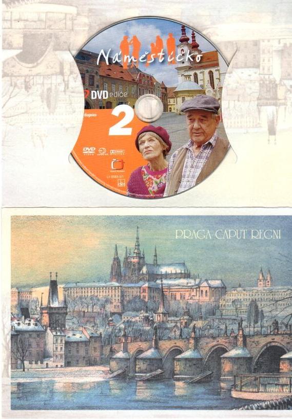 Náměstíčko 2 - DVD dárková obálka