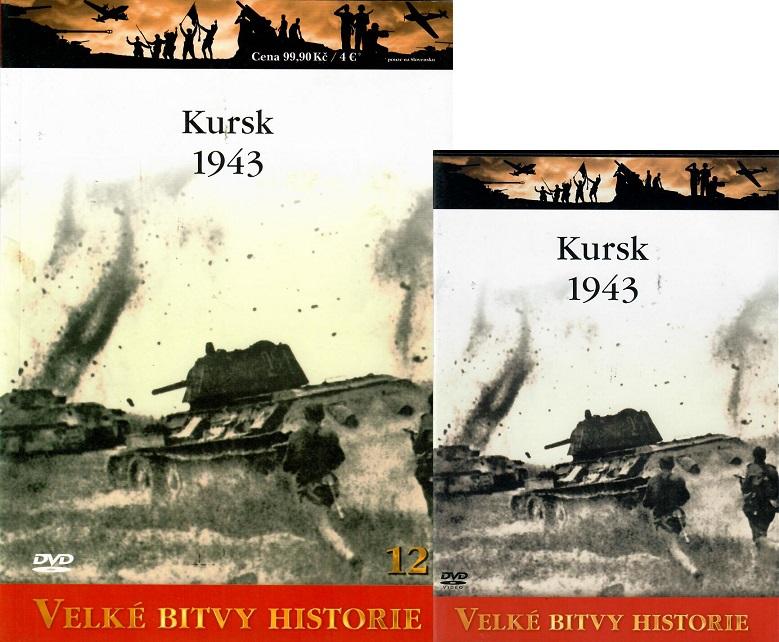 Velké bitvy historie 12 - Kursk 1943 - DVD