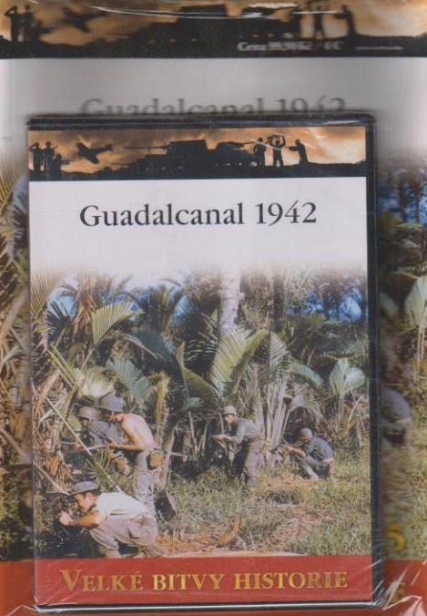 Velké bitvy historie 25 - Guadalcanal 1942 - DVD