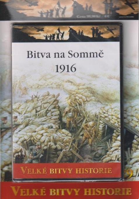 Velké bitvy historie 29 - Bitva na Sommě 1916 ( časopis + DVD )