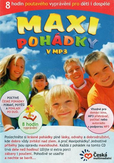 Maxi pohádky v MP3 (CD)