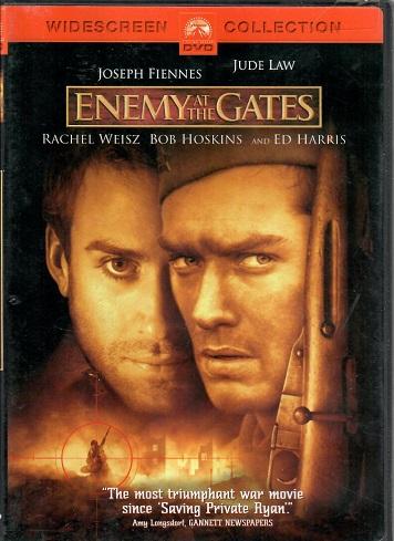 Nepřítel před branami/ Enemy at the gates ( originální znění BEZ CZ titulků ) - plast DVD