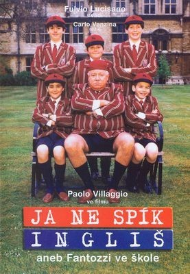 Já ne spík Ingliš aneb Fantozzi ve škole ( plast ) - DVD