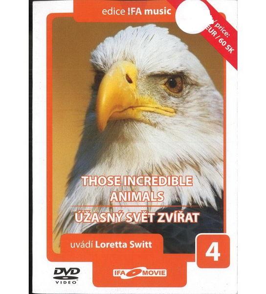 Úžasný svět zvířat 4 - DVD pošetka