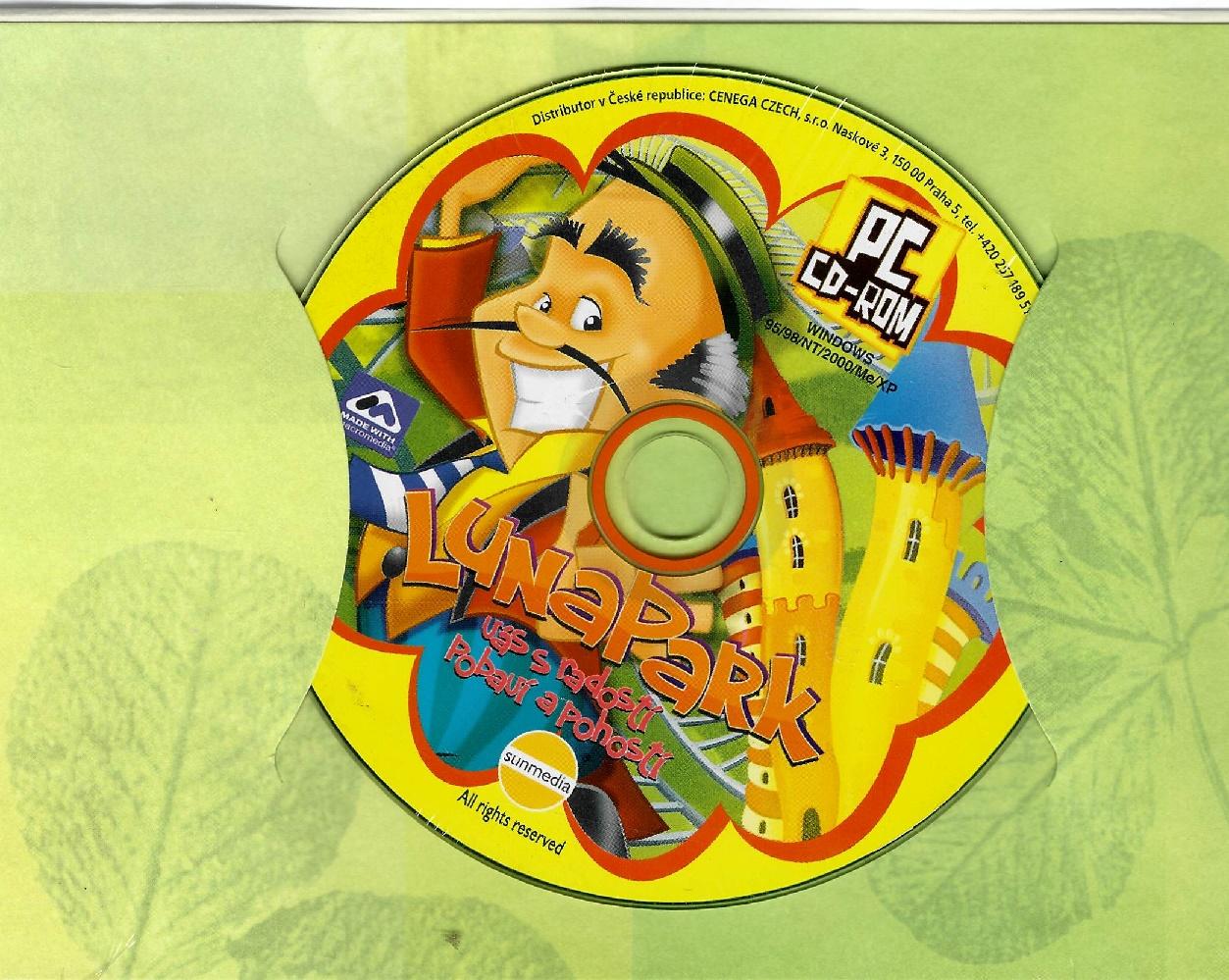 PC hra - Lunapark - dárkový obal