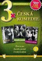 3x Česká komedie IX - Život je pes / Zaostřit prosím! / Z českých mlýnů DVD