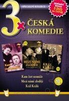 3x Česká komedie X - Kam čert nemůže / Mezi námi zloději / Král Králů DVD