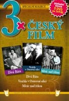 3x Český film - Divá Bára / Vražda v Ostrovní ulici / Měsíc nad řekou DVD