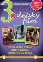 3x Dětský film - Táto sežeň štěně / Robinsonka / Honzíkova cesta DVD