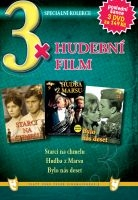 3x Hudební film - Starci na chmelu / Bylo nás deset / Hudba z Marsu DVD