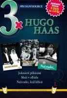 3x Hugo Haas I: Jedenácté přikázání / Muži v offsidu / Načeradec, král kibiců DVD