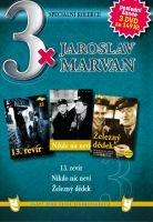 3x Jaroslav Marvan - 13. revír / Nikdo nic neví / Železný dědek DVD