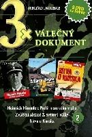 3x Válečný dokument 2 - Heinrich Himmler/Zvláštní zbraně 2. světové války/Bitva u Kurska DVD