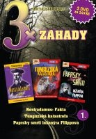 3x Záhady 1 - Nostradamus: Fakta / Tunguzská katastrofa / Paprsky smrti inženýra Filippova DVD