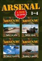 ARSENAL - I-IV - papírové pošetky DVD