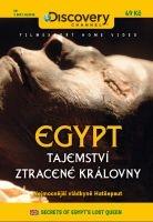 Egypt: Tajemství ztracené královny - papírová pošetka DVD