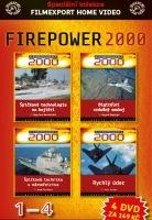 FIREPOWER 2000 - 1-4 - papírové pošetky DVD