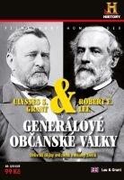 Generálové občanské války: Robert E. Lee & Ulysses S. Grant - digipack DVD