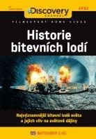 Historie bitevních lodí - papírová pošetka DVD