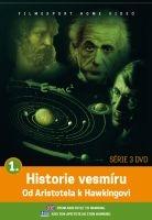 Historie vesmíru: Od Aristotela k Hawkingovi 1 - papírová pošetka DVD