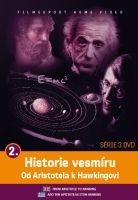 Historie vesmíru: Od Aristotela k Hawkingovi 2 - papírová pošetka DVD