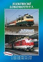 Historie železnic: ELEKTRICKÉ LOKOMOTIVY 1 (2x DVD) - DVD box