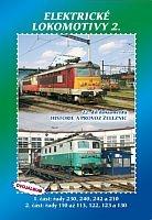 Historie železnic: ELEKTRICKÉ LOKOMOTIVY 2 (2x DVD) - DVD box