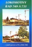 Historie železnic: LOKOMOTIVY ŘAD 749 A 751 - DVD box