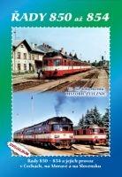 Historie železnic: LOKOMOTIVY ŘAD 850 až 854 (2x DVD) - DVD box