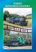 Historie železnic: PARNÍ ÚZKOROZCHODKY (2x DVD) - DVD box