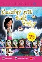 Kouzelný svět malé Vlnky - 6x DVD - papírové pošetky