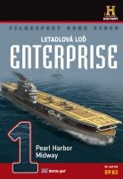 Letadlová loď Enterprise 1: Pearl Harbor, Midway - papírová pošetka DVD
