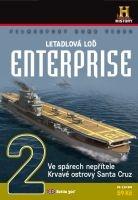 Letadlová loď Enterprise 2: Ve spárech nepřítele, Krvavé ostrovy Santa Kruz - papírová pošetka DVD