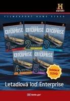 Letadlová loď Enterprise (5x DVD) - papírové pošetky