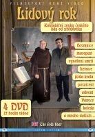 Lidový rok - Kalendářní zvyky českého lidu od středověku (4x DVD) - digipack
