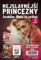 Nejslavnější princezny českého filmu (a světa) - 3x DVD - 99 Kč